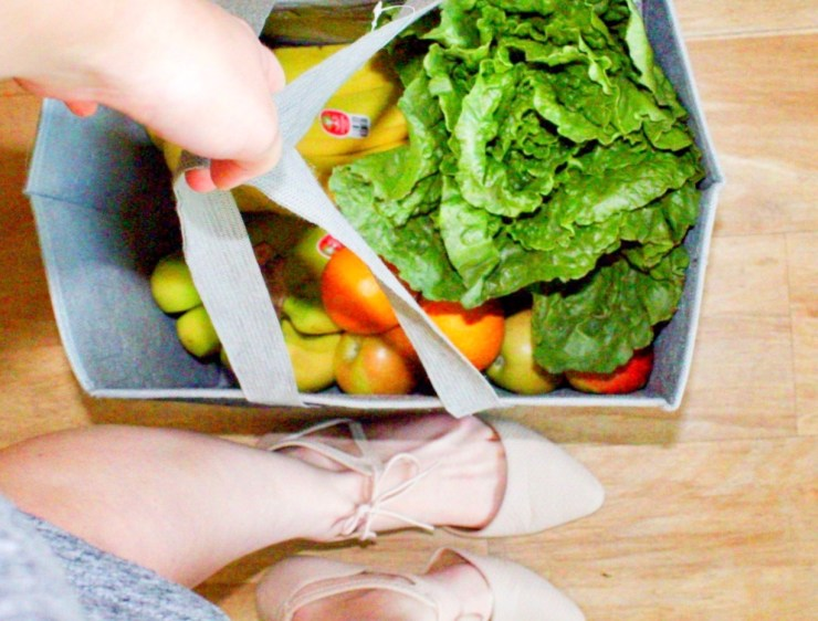 reusable grocery bag sustainable swap