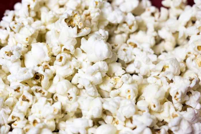college student healthy snack popcorn