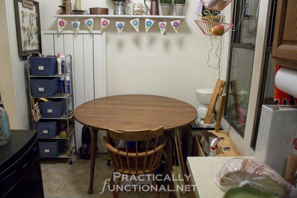 Make Your Own Built In Craft Desk
