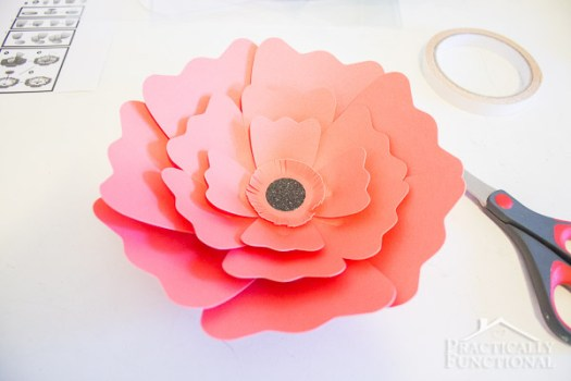 How to make large paper flowers for wedding decorations decoration diy giant paper flower ecza solinf co mightylinksfo