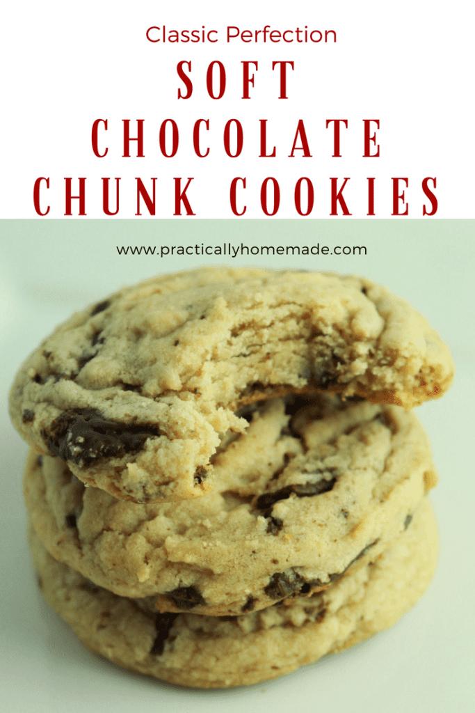 chocolate chunk cookies | chocolate chunk cookies chewy | chocolate chunk cookies recipe | soft chocolate chunk cookies | soft chocolate chunk cookies recipe | soft cookies | soft cookie recipe