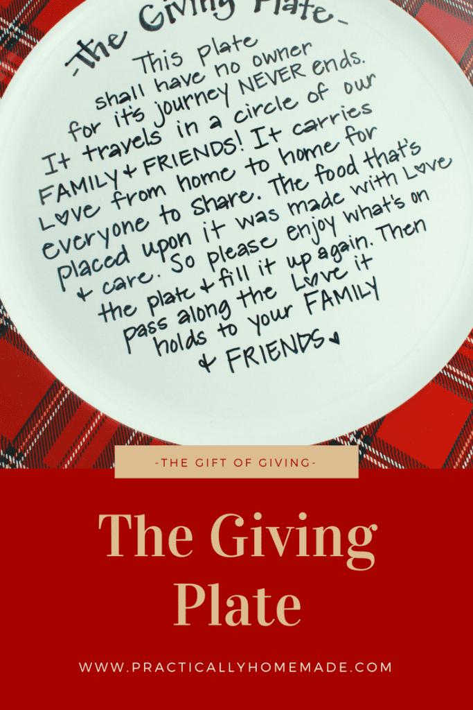 the giving plate | the giving plate diy | the giving plate ideas | the giving plate diy how to make