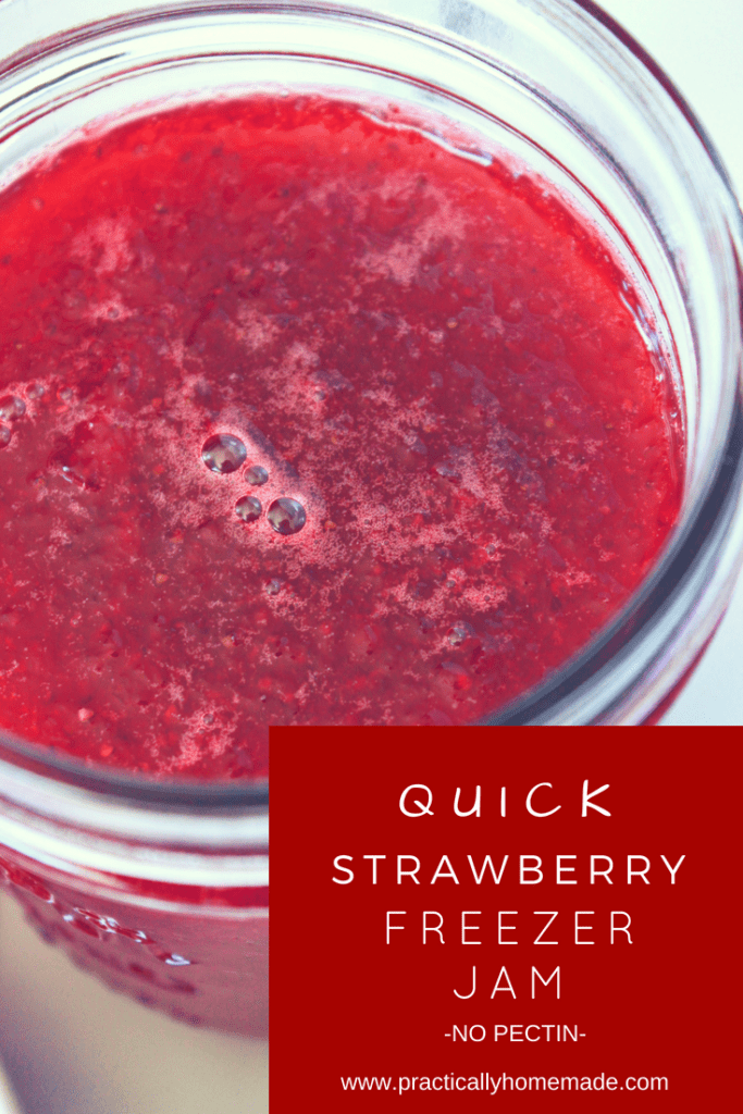 strawberry freezer jam | strawberry freezer jam recipe | strawberry freezer jam no pectin | quick freezer jam | strawberry recipe | strawberry jam