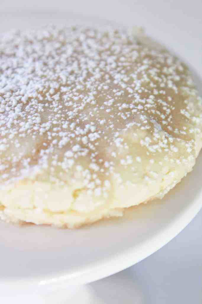 Kentucky Butter Cake Cookies made with a cake mix