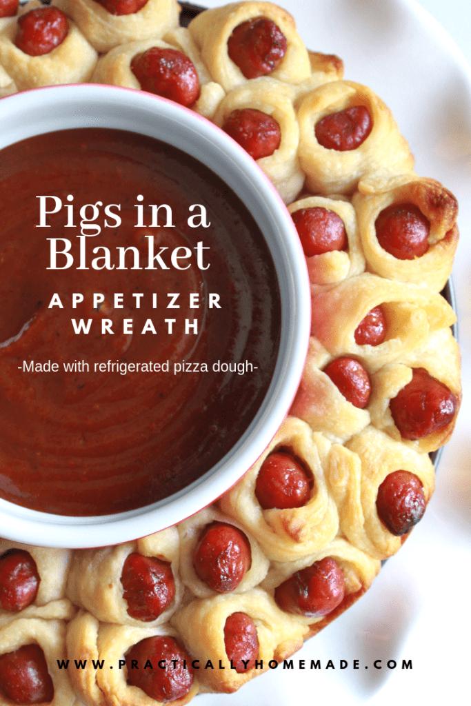 pigs in a blanket recipe pillsbury   pigs in a blanket appetizer   appetizer wreath   little smokies recipes  