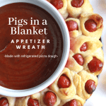 Little Smokies Pigs In A Blanket Wreath Practically Homemade