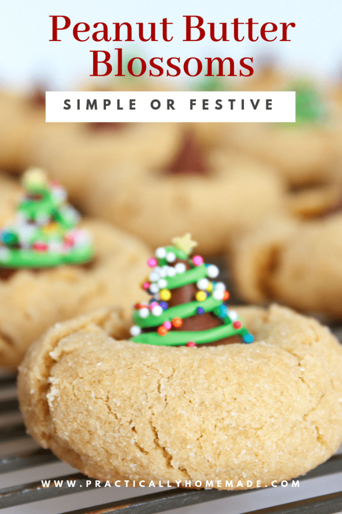 peanut butter blossoms, peanut butter blossom cookies, peanut butter kiss cookies, peanut butter kiss cookies christmas, hershey kiss cookies, christmas cookies