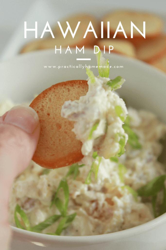 hawaiian ham dip | hawaiian dip | hawaiian appetizers | hawaiian appetizers easy | hawaiian pineapple dip