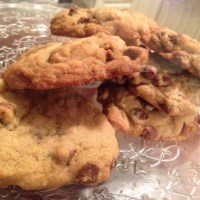 The chewiest, most amazing chocolate chip recipe. Ever