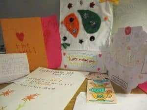 Mother's Day cards and presents
