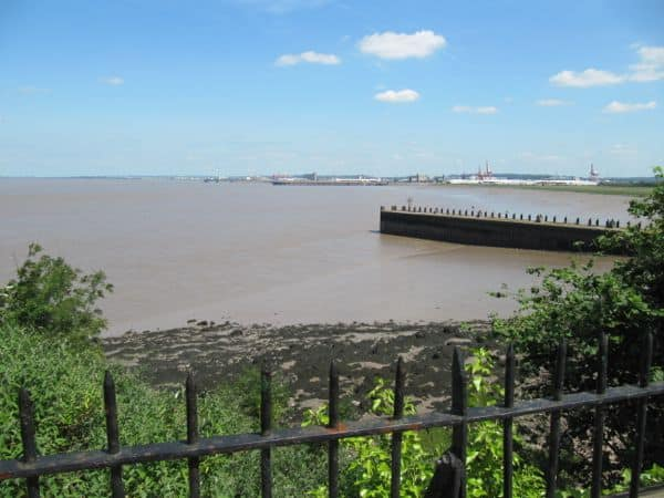 View from the Royal Inn - Portbury Docks