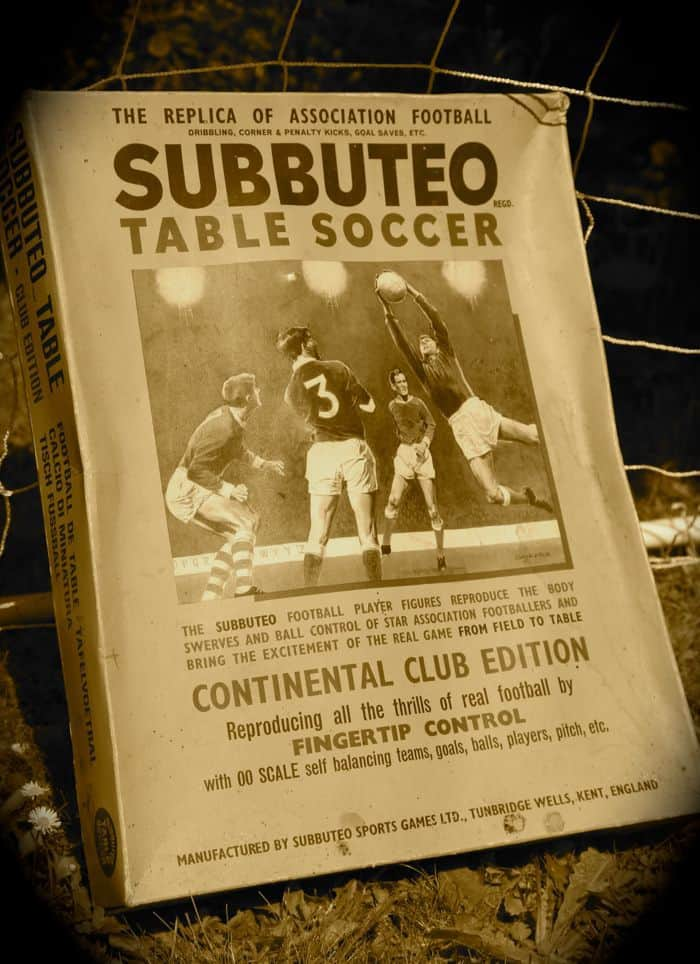 Football Party Games - Subbuteo