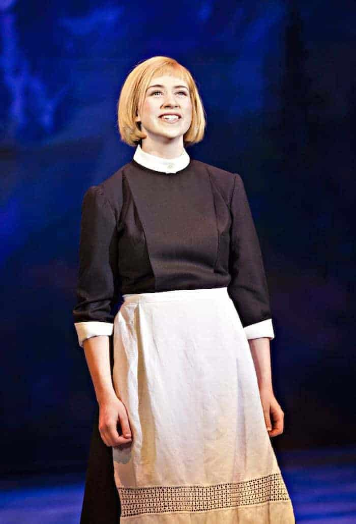 The Sound of Music Family Review - Danielle Hope as Maria - credit Pamela Raith