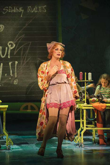 ANNIE - Craig Revel Horwood as'Miss Hannigan'. Photo credit Paul Coltas (2)
