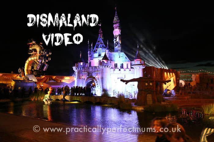 Dismaland Video - Banksy Graffiti Theme Park in Weston-super mare, North Somerset