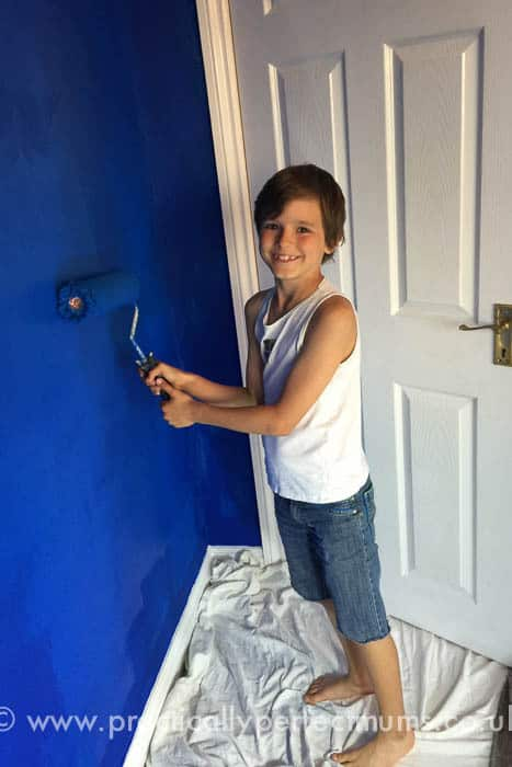 Chelsea Football Bedroom Makeover
