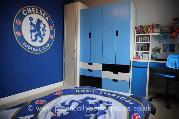 Football Bedroom Makeover Chelsea Football Club Decal