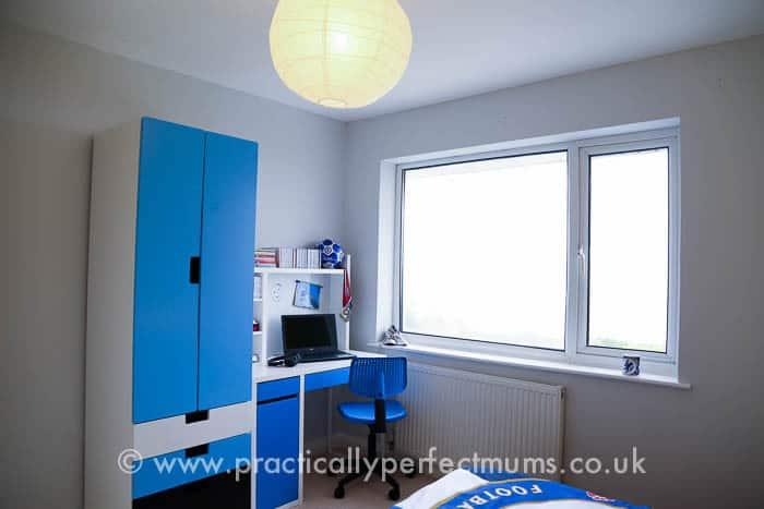 Chelsea Football Bedroom Makeover