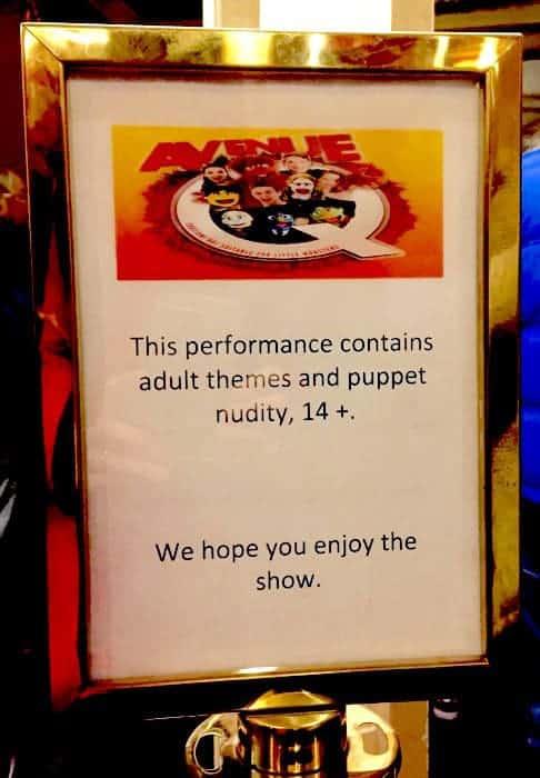 Avenue Q review UK tour Bristol Hippodrome