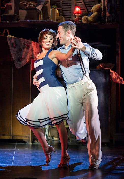 The Last Tango Review - Vincent Simone and Flavia Cacace at beach