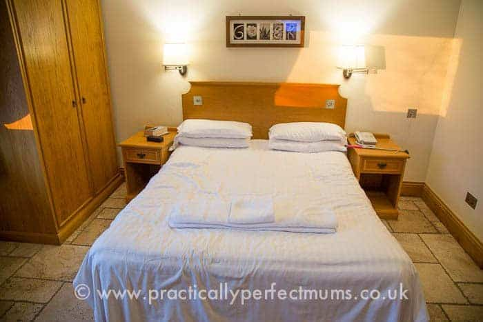 Bedroom at King's Head, Gower Peninsula, Llangenith, Wales