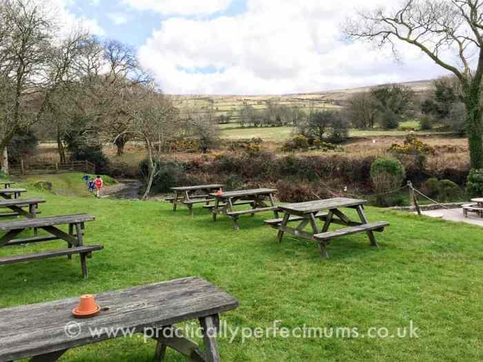 Countryside views from Bearslake Inn, Sourton, Dartmoor