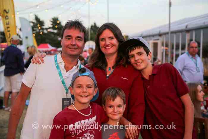 Members Enclosure at Bristol Balloon Fiesta 2016