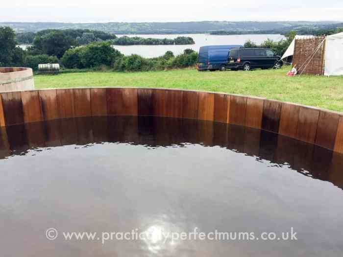 Festival Hot Tub with a Lake View - Valley Fest Review 2016