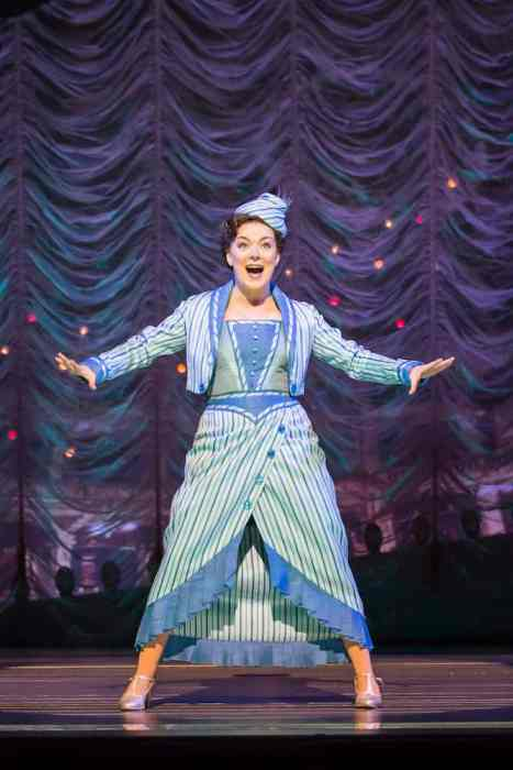 FUNNY GIRL, , MUSIC - JULE STYNE, Lyrics – Bob Merrill, Book – Harvey Fierstein, Director – Michael Mayer, Choreography – Lynne Page, Set Design – Michael Pavelka, Costumes – Matthew Wright, Lighting – Mark Henderson, The Savoy Theatre, London, 2016, Credit: Johan Persson/