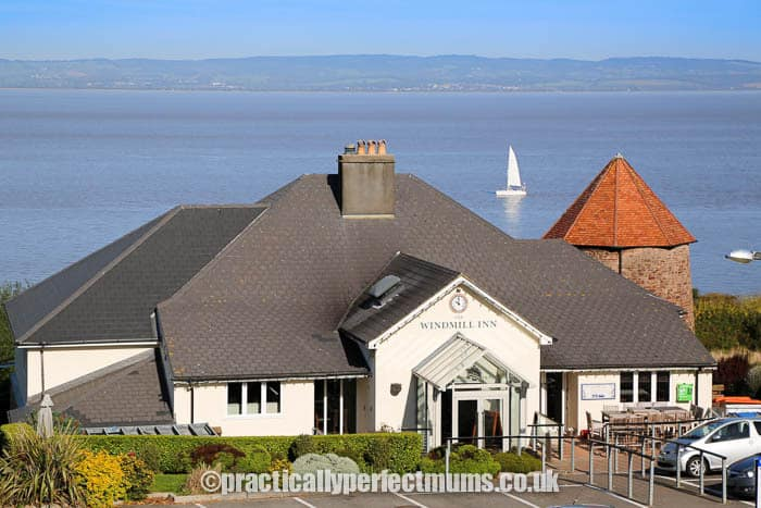 Where to eat in Portishead? The Windmill Inn overlooking Bristol Channel
