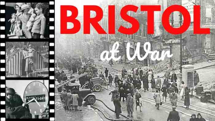 Bristol at War video from the Spectel Bristol History Series. Links to Practically Perfect Mums YouTube channel.