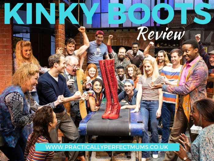 Whatever your mood, you'll be on a high by the end of the show. Read our Kinky Boots review with backstage tour, RED 6 inch stilettos & Lola, our favourite transvestite!
