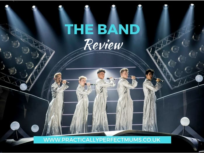 "The Band is a new musical featuring Five to Five, the winners of the BBCs ""Let it Shine"" series. It tells the story of teenage fans growing up with the music of a boyband providing the backing track. Read about this new show plus age suitability guide in The Band Musical review."