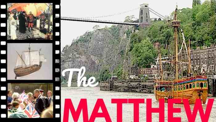 The Matthew video from the Spectel Bristol History Series. Links to Practically Perfect Mums YouTube channel.