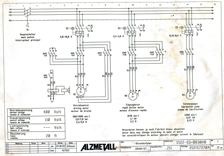 Electrical Schematic For Two Speed Motor Mystery (image