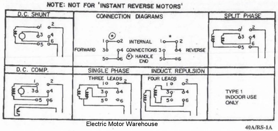 Is There A Way To Reverse My Motor With This Drum Switch?