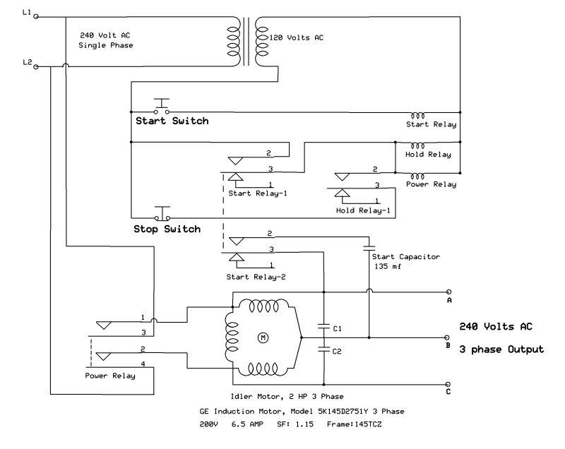 3 Phase Converter Wiring Diagram