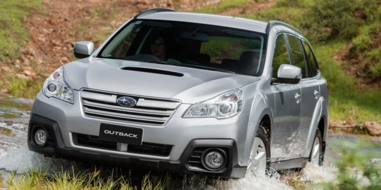 The Subaru Outback diesel finally has a CVT.