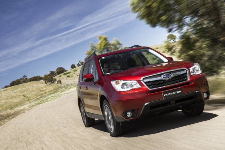 The Subaru Forester, thanks to permanent all-wheel drive is sure footed on all surfaces