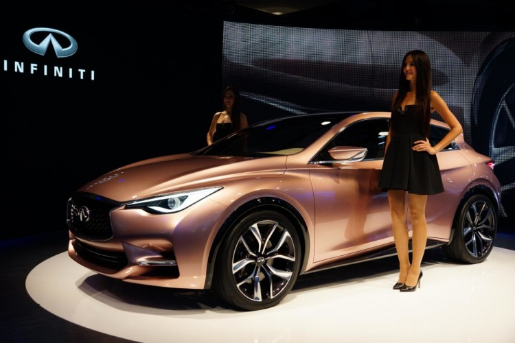 Gorgeous looking Infiniti Q30 concept
