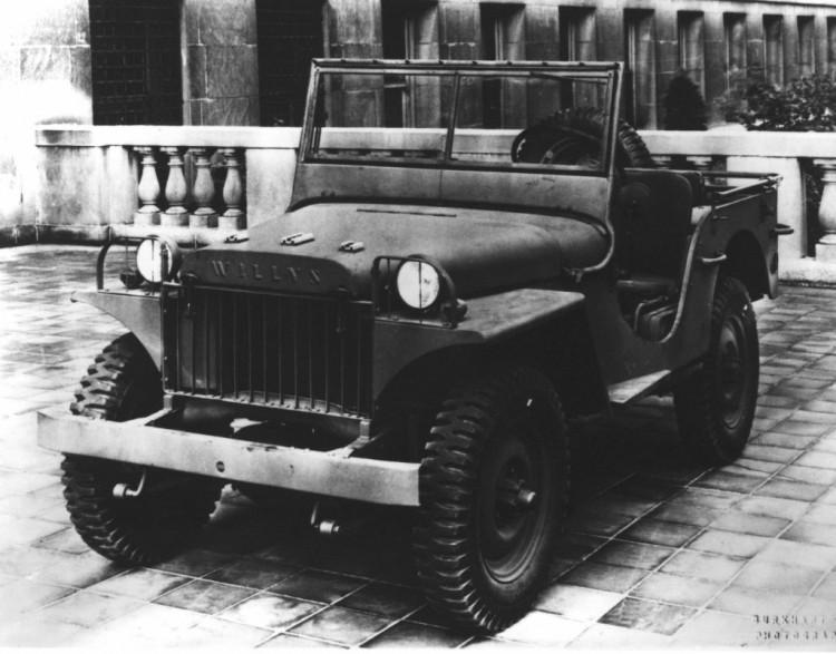 New Jeep Wrangler Willys