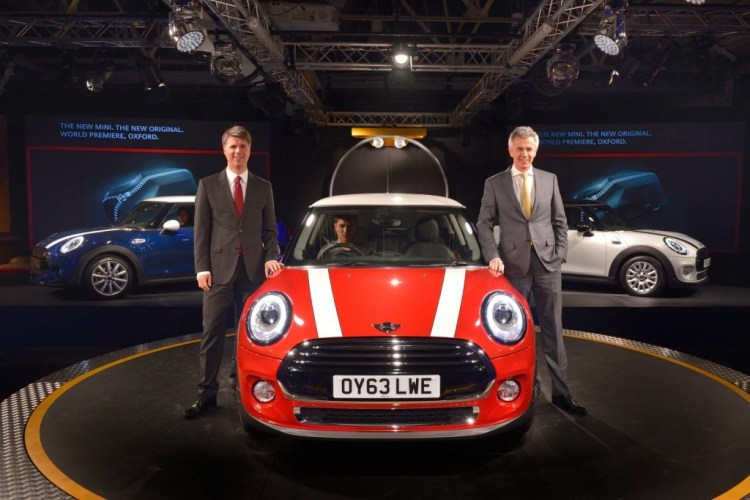 New MINI launches at Oxford, UK production plant