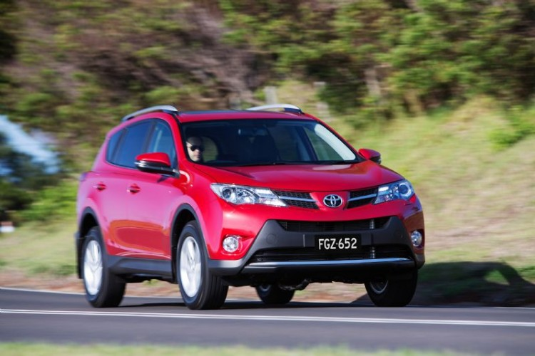 Toyota RAV4 First Drive Review Driving