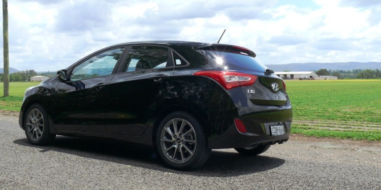 We've had our black Hyundai i30 SR for two weeks and have already driven 1700km