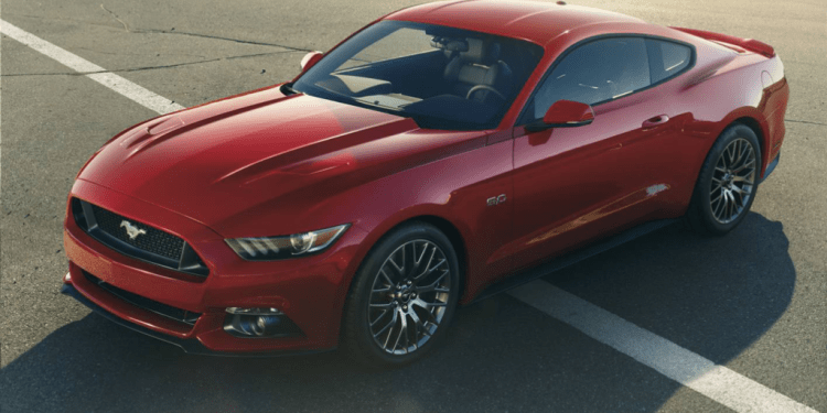The new Mustang looks stunning