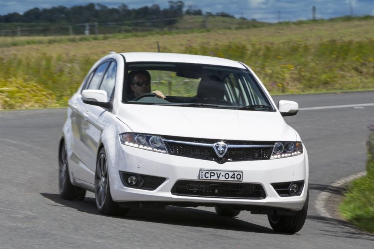 Despite handling by Lotus, the Proton Suprima S is a bit rough to drive