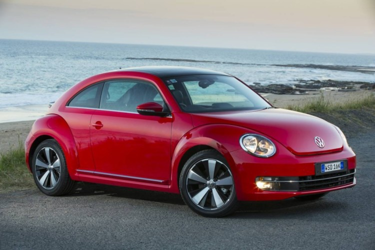 The new Beetle looks more aggressive than its predecessor