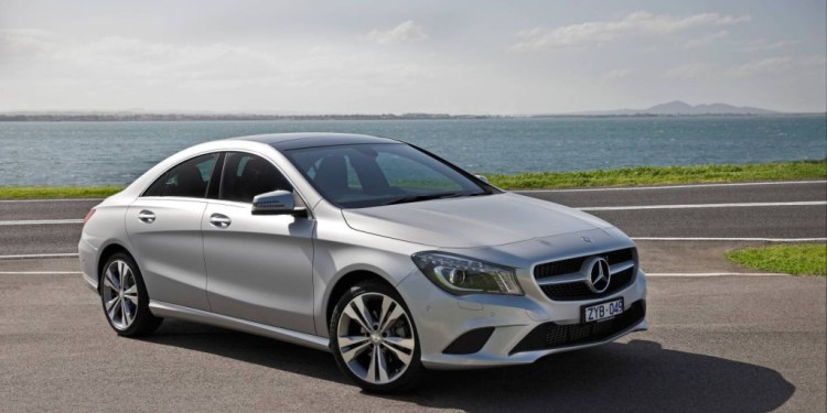 The CLA 200 is a great step up into the Mercedes sedan range