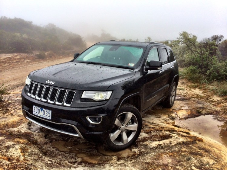 The Jeep Grand Cherokee offers plenty of room for a family and go-anywhere ability