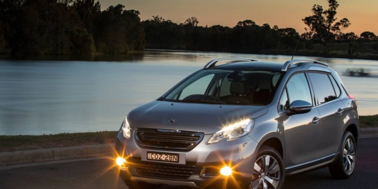 The new Peugeot 2008 stands out from the compact-SUV crowd